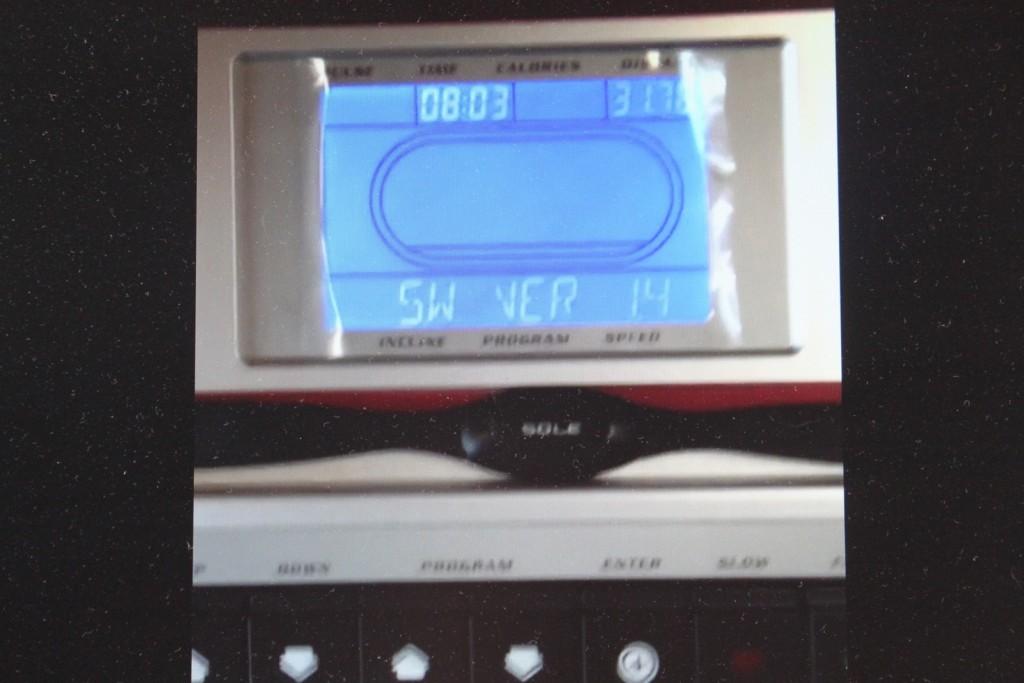 sole f63 treadmill lcd display